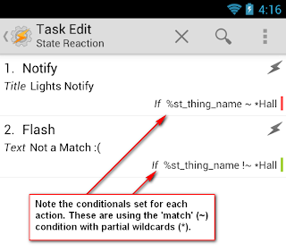 Tasker Conditional Action