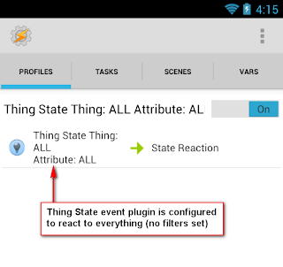 Tasker Thing State Filters