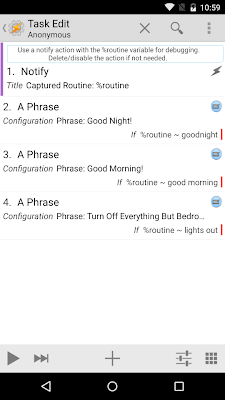 Conditional Phrases Task Overview